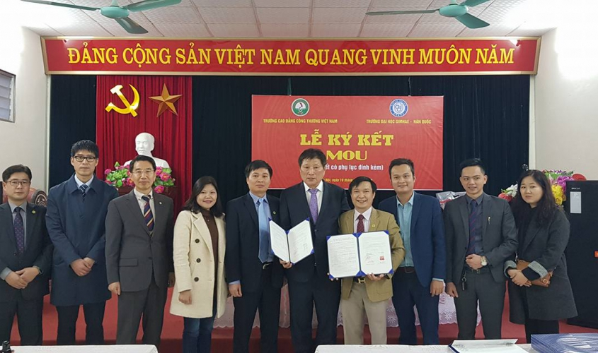 VCI in cooperation with Gimhe University, Korean